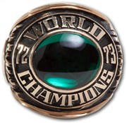 1973 Oakland A's World Series Championship Ring