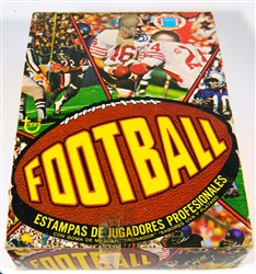 1977 Topps Mexican Football Unopened Wax Box