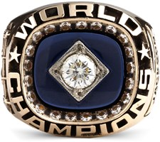 Reggie Jackson's custom-made 1978 New York Yankees World Series Champions ring.
