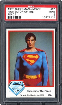 1978 Topps Superman-Movie Protector of the Peace #20