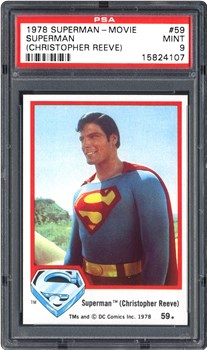 1978 Topps Superman-Movie Superman (Christopher Reeve) #59