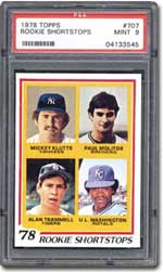 Paul Molitor's rookie card is #707 in the Topps 1978 set.