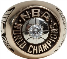 1979 Gus Williams Seattle Supersonics NBA World Championship Ring - Sold for: $91,000