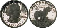 1979 Susan B. Anthony Dollar in Proof