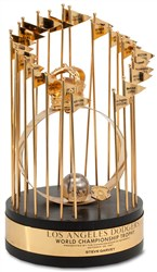 1981 Steve Garvey World Series Trophy