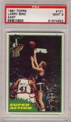 1981 Topps, Larry Bird