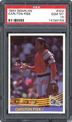 1984 Donruss Carlton Fisk #302