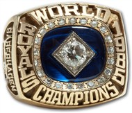 1985 Bret Saberhagen World Series Ring