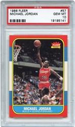 1986 Fleer Michael Jordan #57