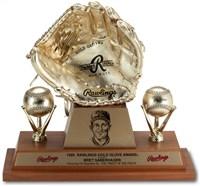 1989 Bret Saberhagen Gold Glove Award