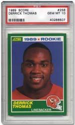 1989 Score Derrick Thomas