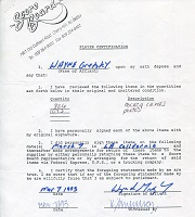 1993 Wayne Gretzky Signed Document