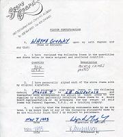 1993 Wayne Gretzky Signed Document