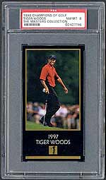 The Tiger Woods Masters card is tough