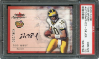 2000 Tom Brady Signed Fleer Card