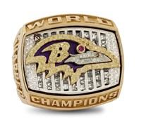 2000 Ravens Super Bowl Ring