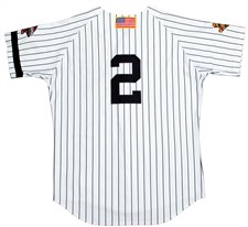 2001 Derek Jeter Game Worn Home Jersey