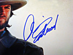 2009 Clint Eastwood Signed Photo Closeup