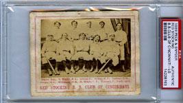 1869 Peck & Snyder Card