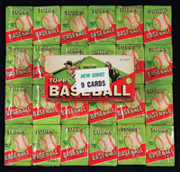Bowman unopened wax boxes