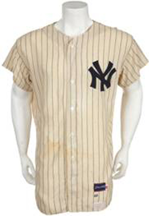 brand new cd468 8a216 Historic Mickey Mantle Game Worn Jersey Surfaces as one of ...