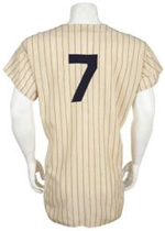 NY Yankees Mantle Jersey