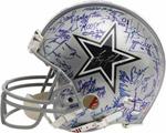 1992-93 Dallas Cowboys Super Bowl Team Signed Helmet