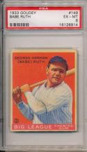 1933 Goudey Babe Ruth