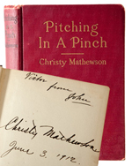 Christy Mathewson Book