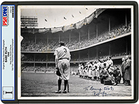 Babe Ruth's Photo