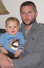 Jason Mays and son, Maddox