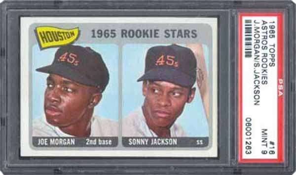 The Top Baseball Cards of the 1960s