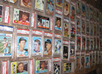 Wilkey has secured the better part of the autographs in his collection either in person or by mail.