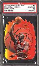1996 Flair Showcase Michael Jordan