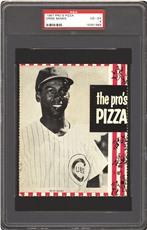 1967 Pro's Pizza Ernie Banks