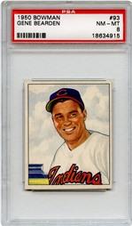 1950 Bowman Gene Bearden