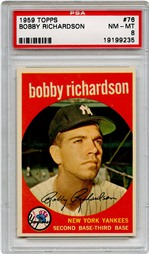 1959 Topps Bobby Richardson