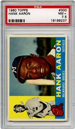 1960 Topps Hank Aaron