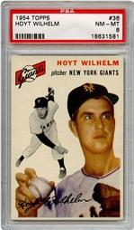 1954 Topps Hoyt Wilhelm