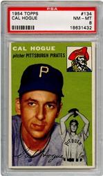 1954 Topps Cal Hogue