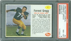 1962 Post Cereal #4 Forrest Gregg