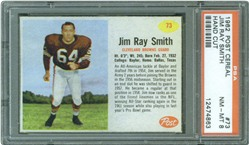 1962 Post Cereal #73 Jim Ray Smith