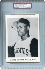 Lot 1: 1958-61 Jay Publishing Clemente PSA 9