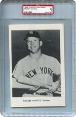 Lot 3: 1966 Yankees Team Issue PSA lot