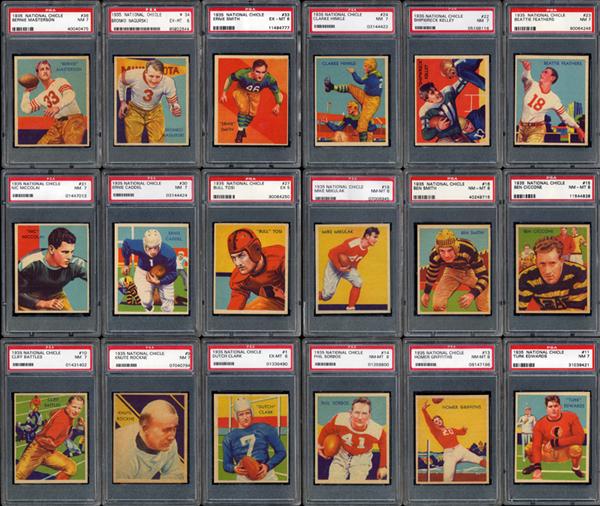 vintage football cards, National Chicle, Turk Broda