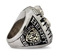 2012 Raven Super Bowl Ring (side)