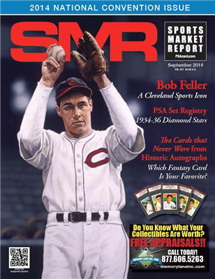 While supplies last, PSA will give away free copies of the convention issue of SMR magazine at the 2014 National Sports Collectors Convention.