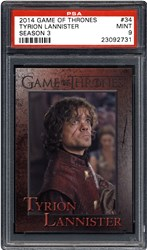 While supplies last, PSA will give away various examples of Game of Thrones and X-Men cards at the 2014 San Diego Comic-Con.