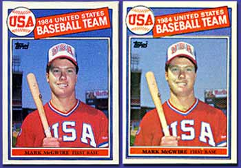 The Best Ones Always Attract Cheats Fake Mcgwire Rookie Cards
