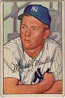 This Mickey Mantle is a classic piece of artwork